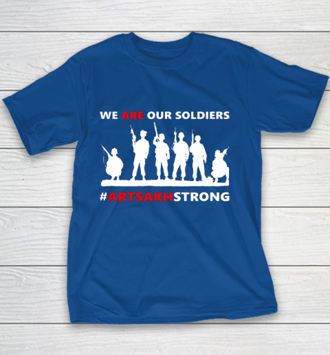 We Are Our Soldiers Youth T-Shirt 14
