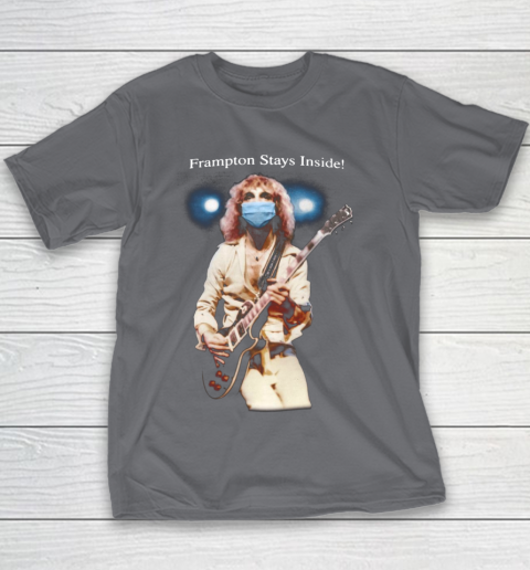 Peter Frampton Covid Stays Inside Youth T-Shirt 5