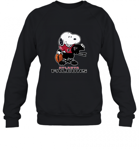 Snoopy A Strong And Proud Atlanta Falcons NFL Sweatshirt