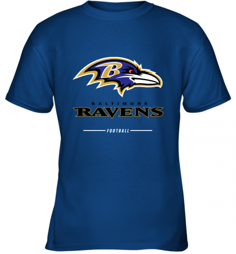 rsqv mens baltimore ravens nfl pro line black team lockup t shirt youth t shirt 26 front royal