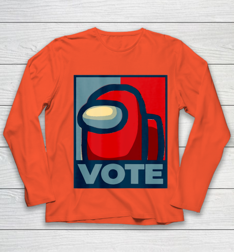 Who is the Impostor neu Among with us start the vote Youth Long Sleeve 4