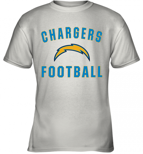 Los Angeles Chargers NFL Pro Line by Fanatics Branded Gray Victory Youth T-Shirt