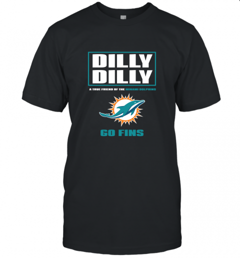 A True Friend Of The Minami Dolphins Unisex Jersey Tee