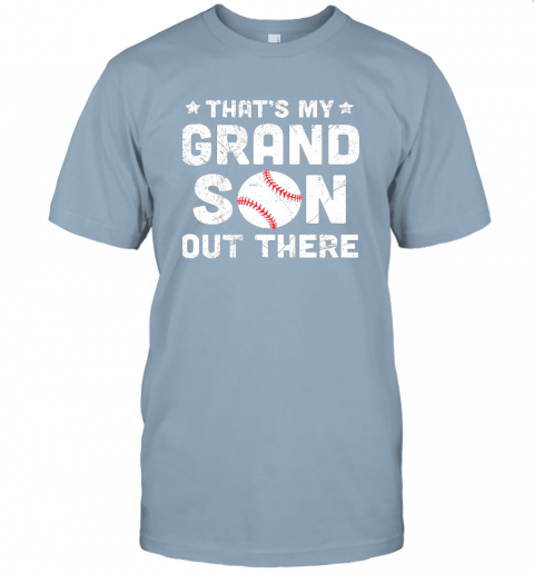wclz grandma that39 s my grandson out there baseball jersey t shirt 60 front light blue