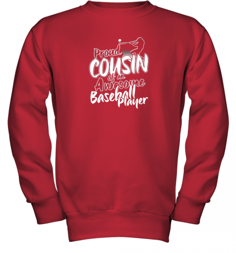 myq7 cousin baseball shirt sports for men accessories youth sweatshirt 47 front red