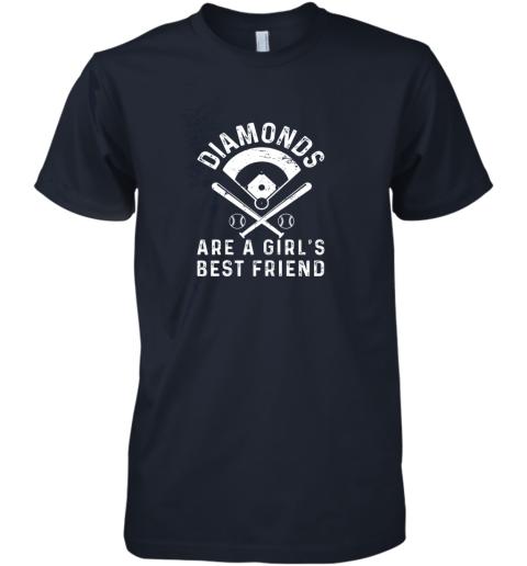 kk1p diamonds are a girl39 s best friend baseball premium guys tee 5 front midnight navy