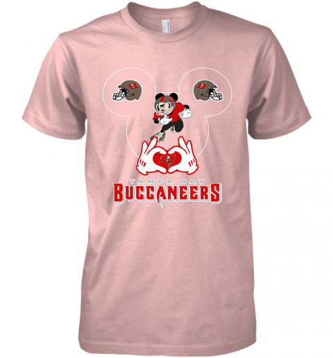 k8gz i love the buccaneers mickey mouse tampa bay buccaneers s premium guys tee 5 front light pink