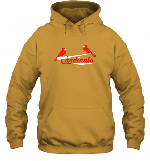 tfhp cardinal sports shirtst louis baseball fan hoodie 23 front gold