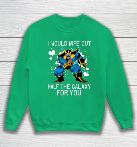 Marvel Thanos Half The Galaxy Valentine Graphic Sweatshirt 5