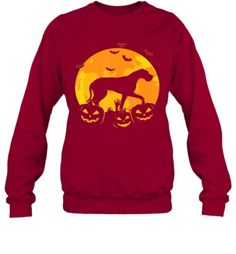Halloween Great Dane Jack O Lantern Dog Puppy Pumpkin Gifts Sweatshirt