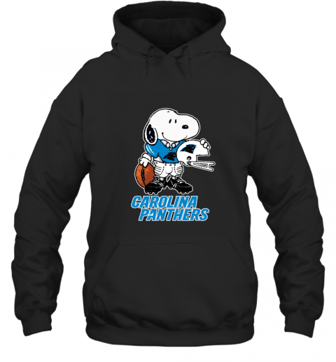 Snoopy A Strong And Proud Carolina Panthers NFL Hoodie