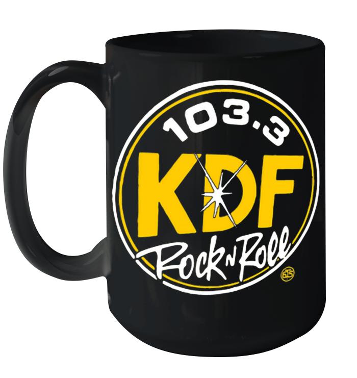 103 3 KDP Rock And Roll Ceramic Mug 15oz