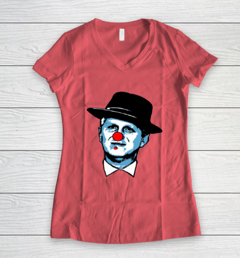 Michael Rapaport Clown Women's V-Neck T-Shirt 4