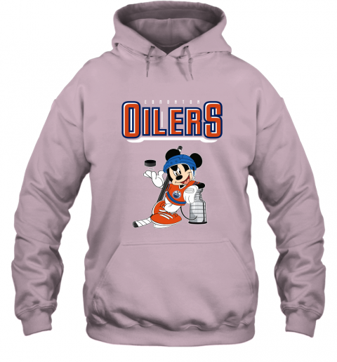 2bm9 mickey edmonton oilers with the stanley cup hockey nhl shirt hoodie 23 front light pink