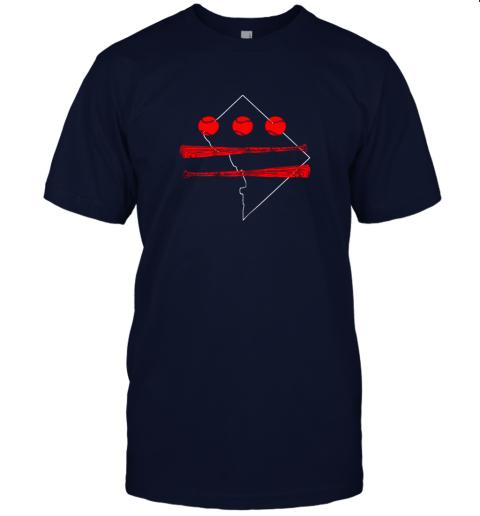 ikrl washington dc map capitol baseball flag jersey t shirt 60 front navy