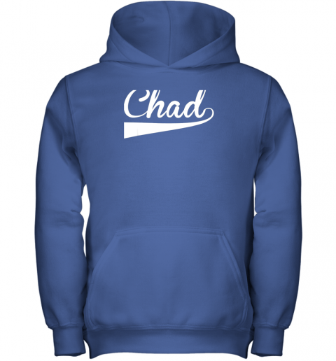 j1we chad country name baseball softball styled youth hoodie 43 front royal