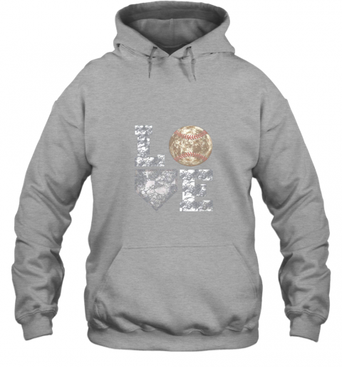 js2h baseball distressed ball cute dad mom love gift hoodie 23 front sport grey