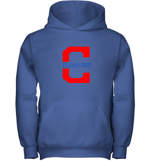 mdxf cleveland hometown indian tribe vintage for mlb fans youth hoodie 43 front royal