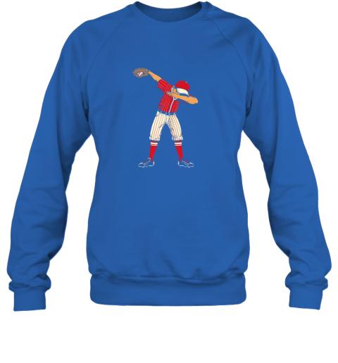 wyro dabbing baseball catcher gift shirt men boys kids bzr sweatshirt 35 front royal