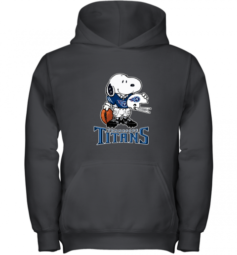 Snoopy A Strong And Proud Tennessee Titans NFL Youth Hoodie