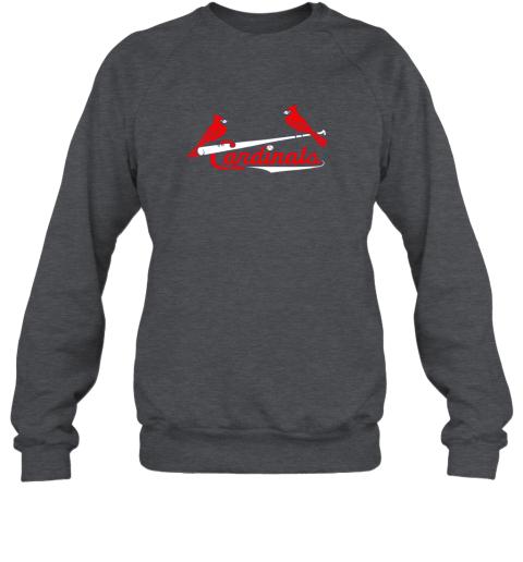 mavq cardinal sports shirtst louis baseball fan sweatshirt 35 front dark heather