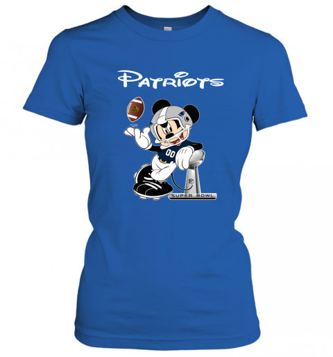 txtn mickey patriots taking the super bowl trophy football ladies t shirt 20 front royal