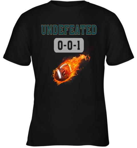 NFL PHILADELPHIA EAGLES LOGO Undefeated Youth T-Shirt