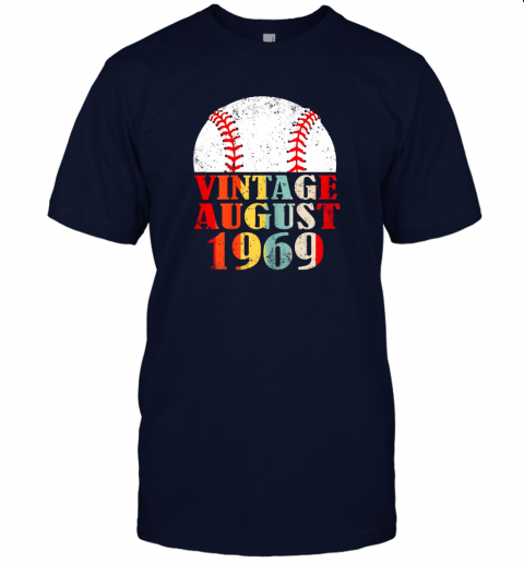 gxor born august 1969 baseball shirt 50th birthday gifts jersey t shirt 60 front navy