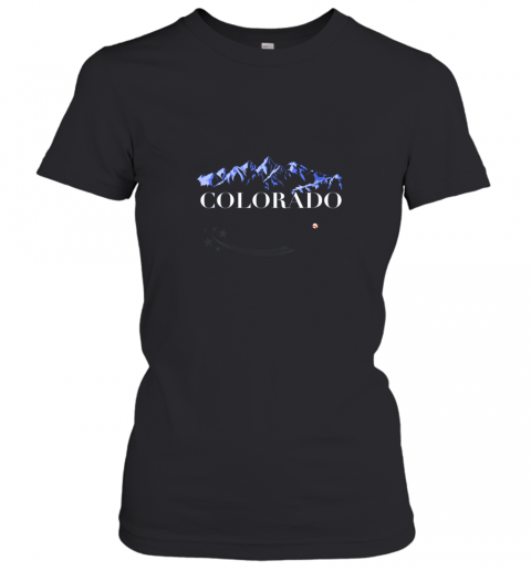 Colorado Rocky Mountain Tshirt Baseball Player Women's T-Shirt