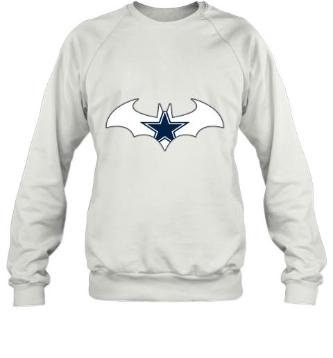 We Are The Dallas Cowboys Batman NFL Mashup Sweatshirt