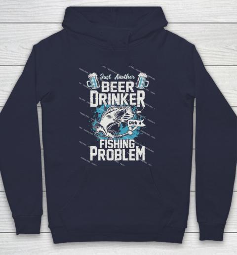 Beer Lover Funny Shirt Fishing ANd Beer Hoodie 2