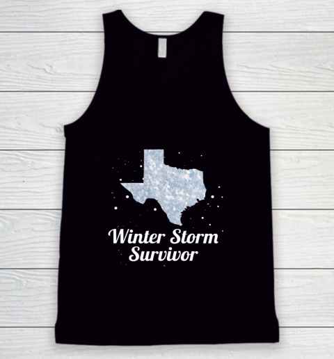 I Survived Winter Storm Texas 202 Tank Top