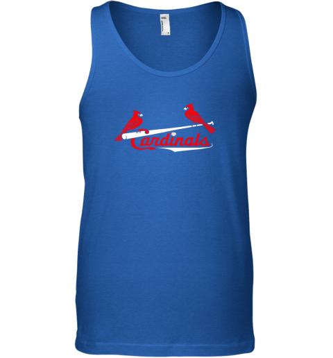 woos cardinal sports shirtst louis baseball fan unisex tank 17 front royal