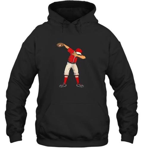 Dabbing Baseball Catcher Gift Shirt Men Boys Kids BZR Hoodie