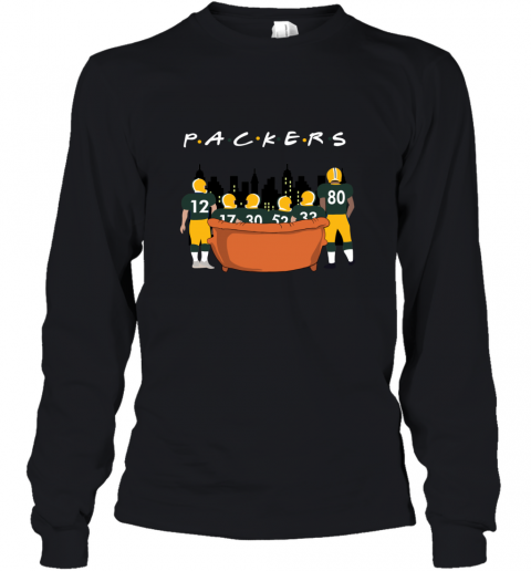 The Green Bay Packers Together F.R.I.E.N.D.S NFL Youth Long Sleeve