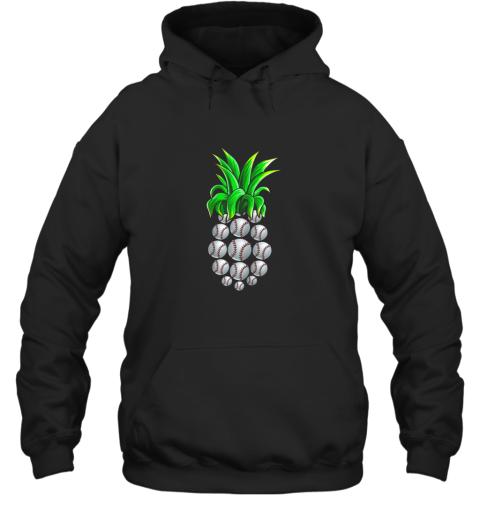 Pineapple Baseball Shirt Hawaiian Aloha Beach Gift Hawaii Hoodie