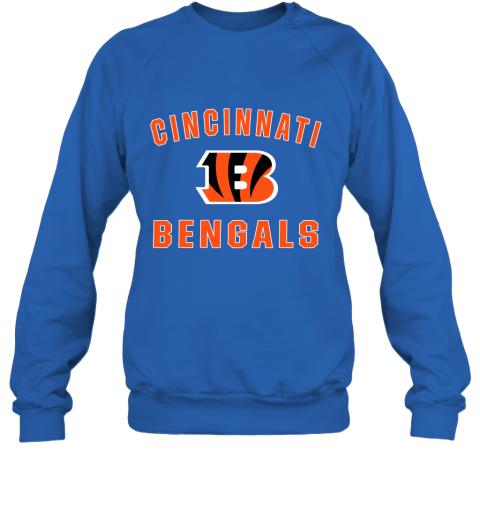 5onw cincinnati bengals nfl pro line gray victory sweatshirt 35 front royal
