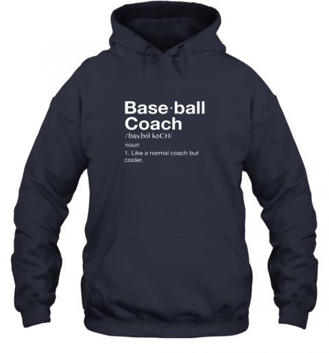m9mb coach baseball shirt team coaching hoodie 23 front navy