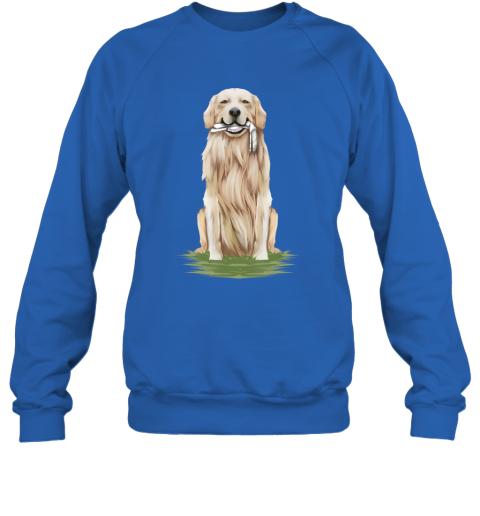 Funny Golden Retriever Dog Eating A Bone Halloween Sweatshirt