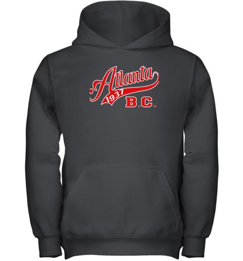 Negro Baseball League Apparel  Shirt Atlanta Blk Crackers Youth Hoodie