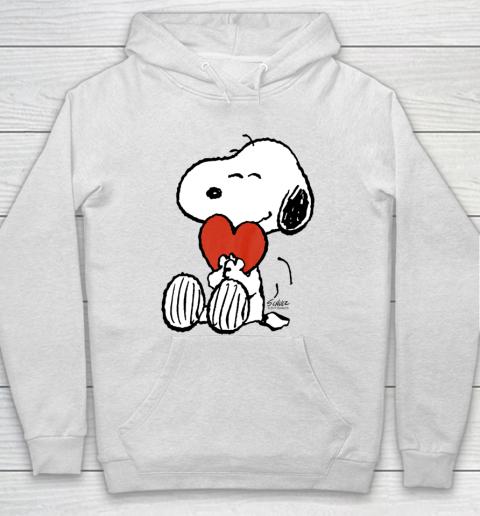 Peanuts Snoopy Heart Valentine Hoodie