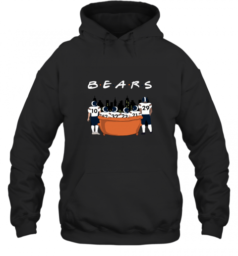 The Chicago Bears Together F.R.I.E.N.D.S NFL Hoodie