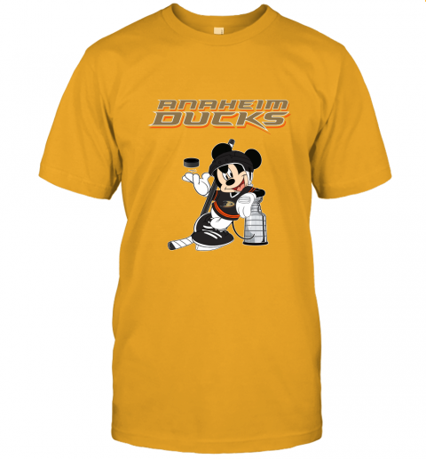 fr5j mickey anaheim ducks with the stanley cup hockey nhl jersey t shirt 60 front gold