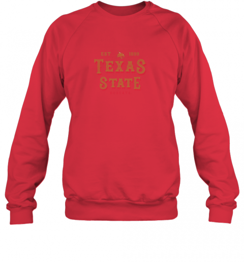xk2w texas state bobcats womens college ncaa sweatshirt 35 front red