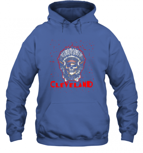 phgn cleveland hometown indian tribe vintage baseball fan awesome hoodie 23 front royal
