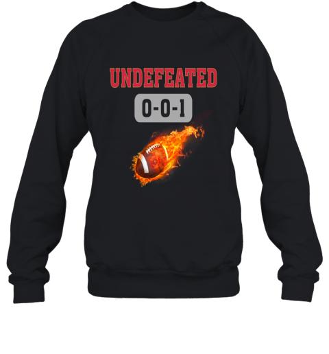 NFL SAN FRANCISCO 49ERS LOGO Undefeated Sweatshirt