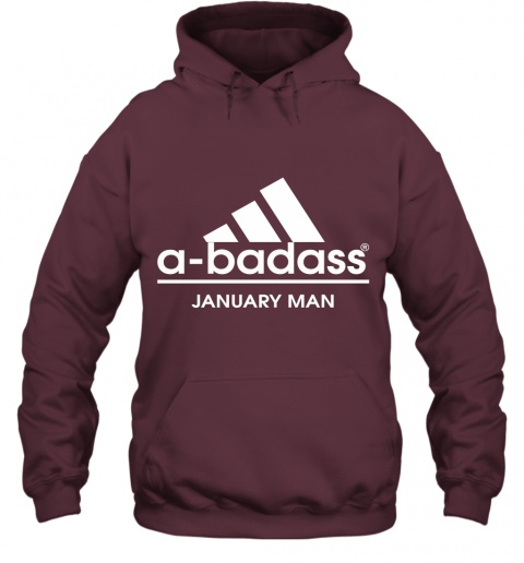 A Badass January Man Are Born In March Hoodie