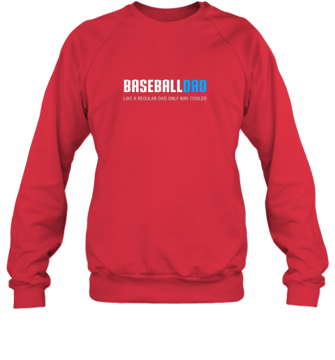 5hbz mens baseball dad shirt funny cute father39 s day gift sweatshirt 35 front red