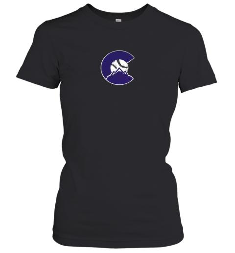 Colorado Rocky Mountain Baseball Sports Team Women's T-Shirt