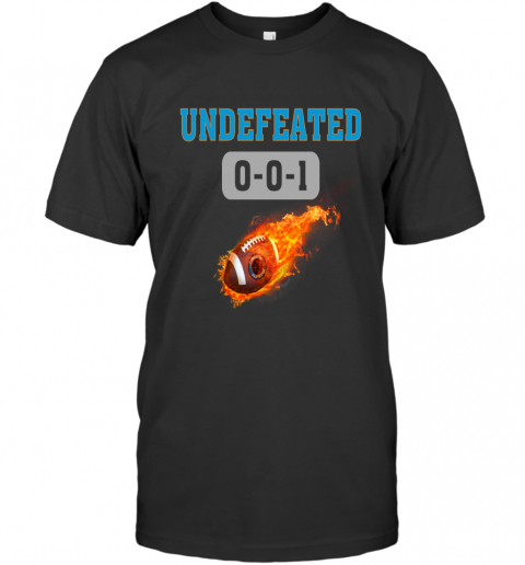 NFL CAROLINA PANTHERS Logo Undefeated T-Shirt